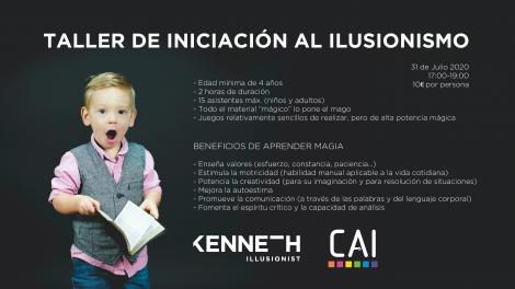 TALLER DE INICIACIÓN AL ILUSIONISMO