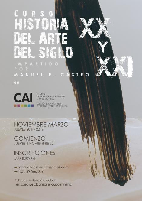 HISTORIA DEL ARTE DEL SIGLO XX y XXI