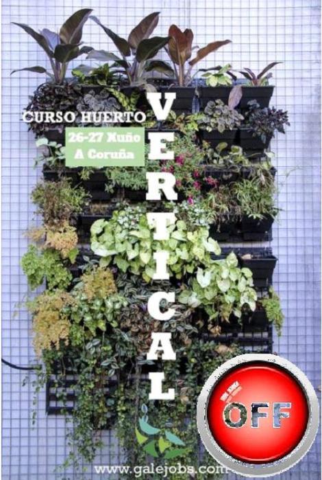 TALLER HUERTO VERTICAL
